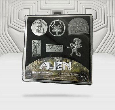 Alien Pin Badge 6-Pack Limited Edition