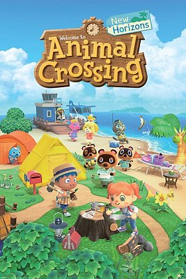 Animal Crossing Poster Pack New Horizons 61 x 91 cm (5)