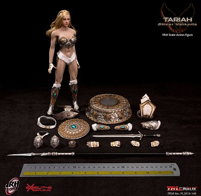 ARH ComiX Action Figure 1/6 Tariah The Silver Valkyrie 29 cm