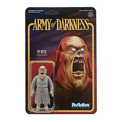 Army of Darkness ReAction Action Figure Pit Witch 10 cm