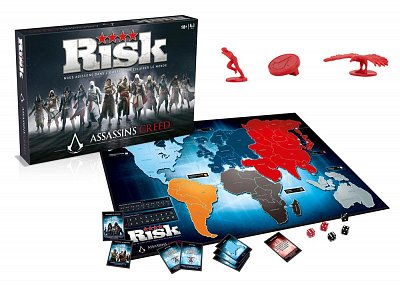 Assassin\'s Creed Board Game Risk *French Version* --- DAMAGED PACKAGING