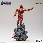 Avengers Endgame BDS Art Scale Statue 1/10 Iron Man Mark LXXXV 29 cm --- DAMAGED PACKAGING