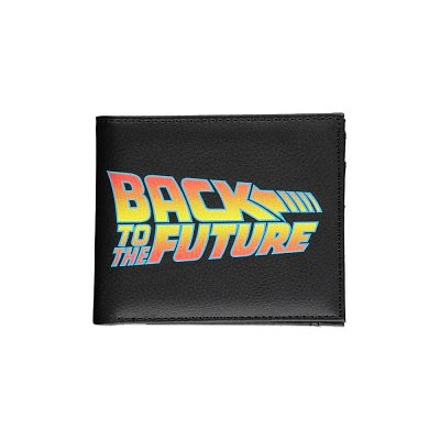 Back To The Future Bifold Wallet Title