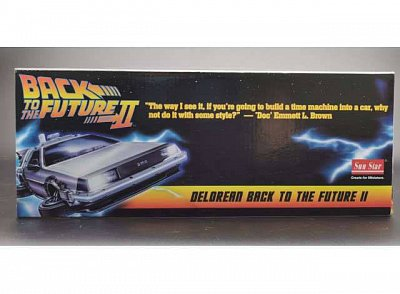 Back to the Future II Diecast Model 1/18 1983 DeLorean