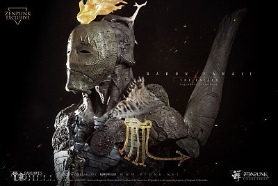 Barlowe\'s Hell Legendary Scale Bust 1/2 Barin Faraii The Fallen Zenpunk Exclusive 55 cm --- DAMAGED PACKAGING