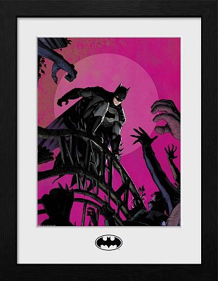 Batman Collector Print Framed Poster Arkham