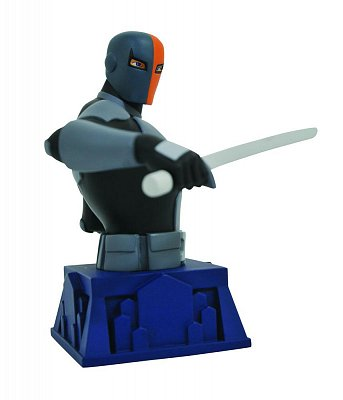 Batman The Animated Series Bust Beware The Batman Deathstroke 15 cm --- DAMAGED PACKAGING
