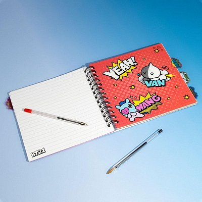 BT21 Notebook Characters