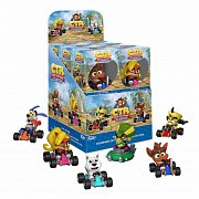 Crash Bandicoot Mini Vinyl Figures 6 cm Display (12) --- DAMAGED PACKAGING