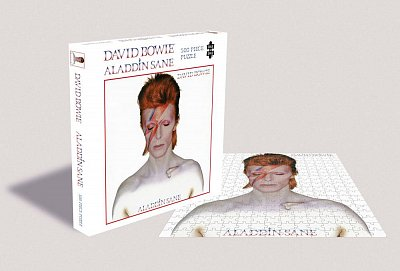 David Bowie Rock Saws Jigsaw Puzzle Aladdin Sane (500 pieces)