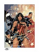 DC Comics Art Print Justice League 46 x 61 cm - unframed