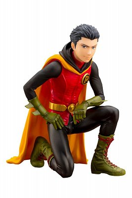 DC Comics Ikemen PVC Statue 1/7 Damian Robin 13 cm --- DAMAGED PACKAGING
