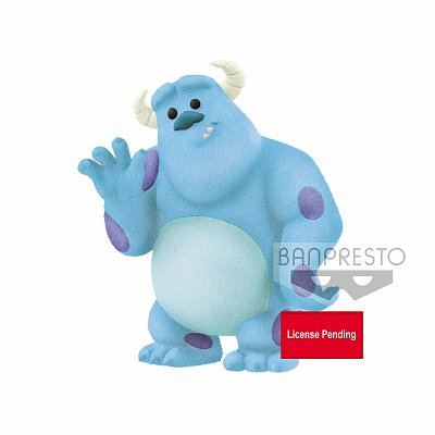 Disney Pixar Fluffy Puffy Petit Mini Figure Sulley (Monsters Inc.) 5 cm