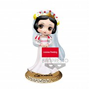 Disney Q Posket Mini Figure Snow White Dreamy Style Ver. A 14 cm