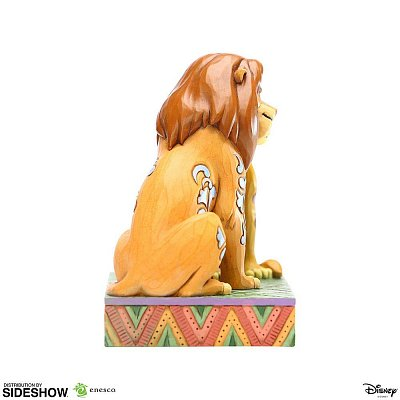 Disney Statue Simba and Nala Snuggling by Jim Shore (The Lion King) 13 cm