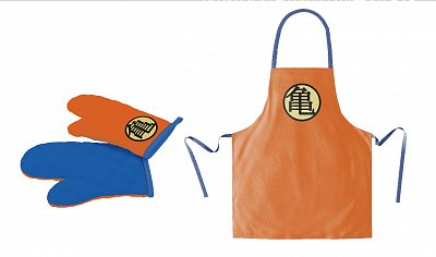 Dragon Ball cooking apron with oven mitt Turtle Symbol