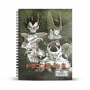 Dragon Ball Notebook A4 Evil