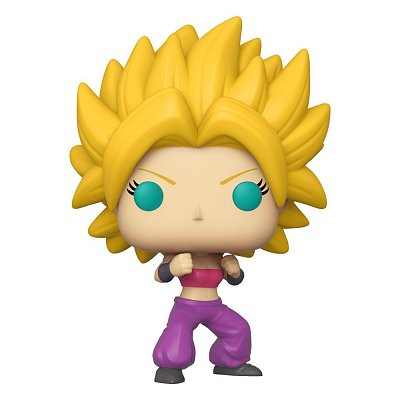 Dragon Ball Super POP! Animation Vinyl Figure Super Saiyan Caulifla 9 cm