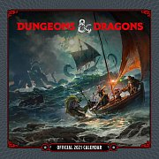 Dungeon & Dragons Calendar 2021 *English Version*