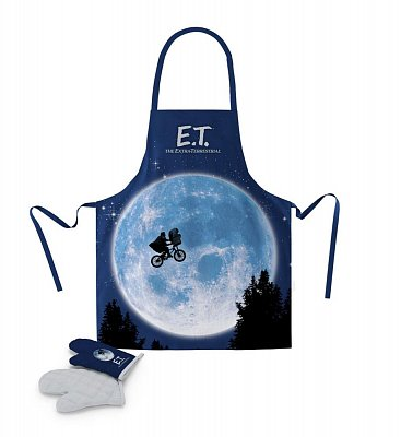 E.T. the Extra-Terrestrial cooking apron with oven mitt Poster