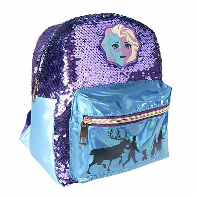 Frozen 2 Casual Fashion Sequin Backpack Elsa 21 x 26 x 10 cm