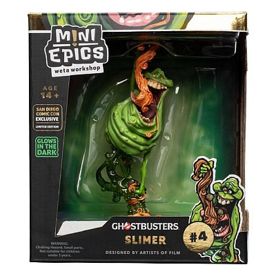 Ghostbusters Mini Epics Vinyl Figure Slimer Glow In The Dark SDCC 2020 Exclusive 18 cm
