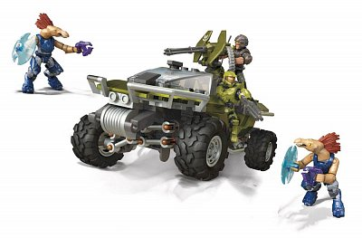 Halo Infinite Mega Construx Pro Builders Construction Set Warthog Rally
