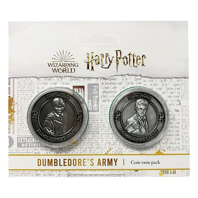 Harry Potter Collectable Coin 2-pack Dumbledore\'s Army: Harry & Ron Limited Edition