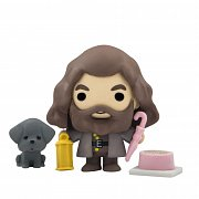 Harry Potter Mini Figures Gomee Rubeus Hagrid Character Edition Display (10)