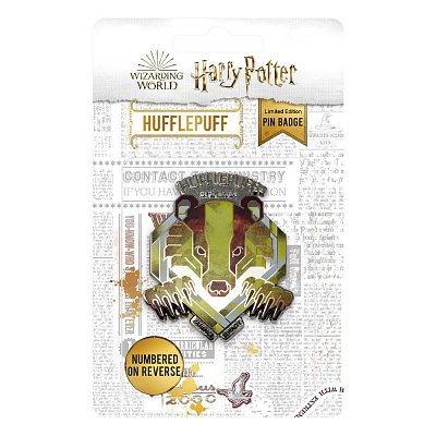 Harry Potter Pin Badge Hufflepuff Limited Edition