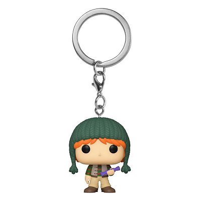 Harry Potter Pocket POP! Vinyl Keychains 4 cm Holiday Ron Display (12)