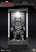 Iron Man 3 Mini Egg Attack Action Figure Hall of Armor Iron Man Mark I 8 cm