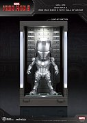 Iron Man 3 Mini Egg Attack Action Figure Hall of Armor Iron Man Mark II 8 cm