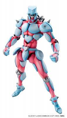 JoJo\'s Bizarre Adventure Super Action Action Figure Chozokado (Crazy Diamond) 16 cm