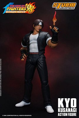 King of Fighters \'98: Ultimate Match Action Figure 1/12 Kyo Kusanagi 17 cm --- DAMAGED PACKAGING