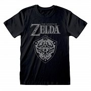 Legend Of Zelda T-Shirt Distressed Shield