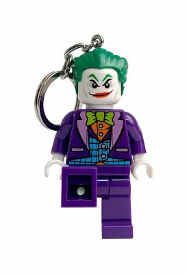 LEGO Super Heroes Light-Up Keychain Joker 6 cm