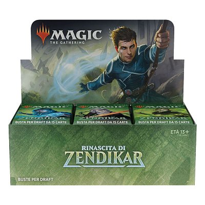 Magic the Gathering Rinascita di Zendikar Draft Booster Display (36) italian