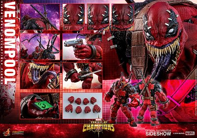 Marvel: Contest of Champions Video Game Masterpiece Action Figure 1/6 Venompool 37 cm
