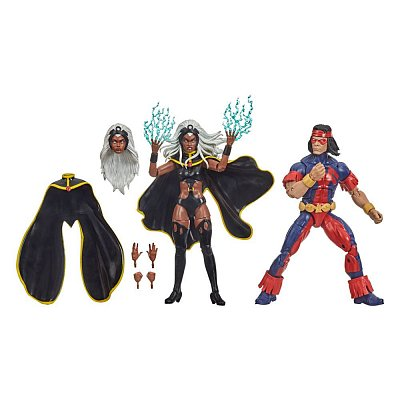 Marvel Legends Action Figure 2-Pack Storm & Marvel\'s Thunderbird 15 cm --- DAMAGED PACKAGING