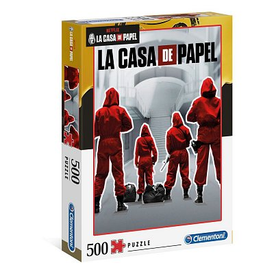 Money Heist Jigsaw Puzzle Overall (500 pieces)