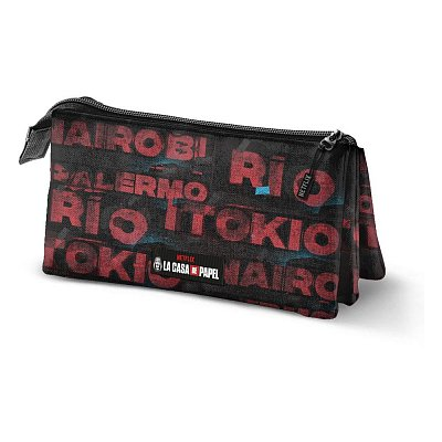 Money Heist Pencil Case Cities Triple