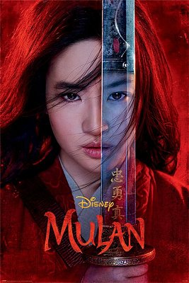 Mulan Poster Pack Be Legendary 61 x 91 cm (5)