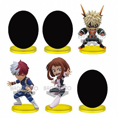 My Hero Academia The Movie Heroes: Rising WCF ChiBi Figures 7 cm Assortment (12)