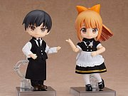 Original Character Parts for Nendoroid Doll Figures Outfit Set (Cafe - Boy)