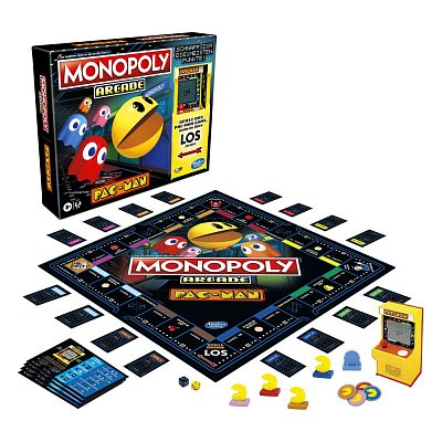 Pac-Man Arcade Board Game Monopoly *German Version*