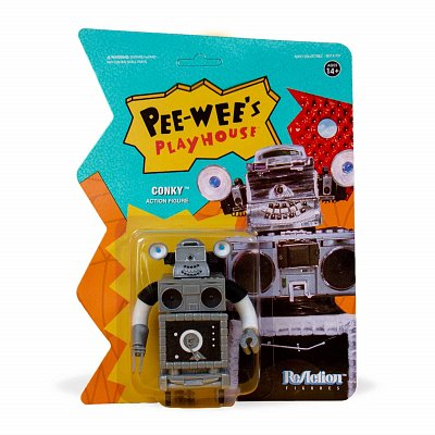 Pee-wee\'s Playhouse ReAction Action Figure Conky 10 cm
