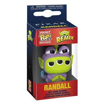 Pixar Pocket POP! Vinyl Keychains 4 cm Alien as Randall Display (12)