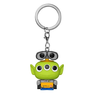 Pixar Pocket POP! Vinyl Keychains 4 cm Alien as Wall-E Display (12)