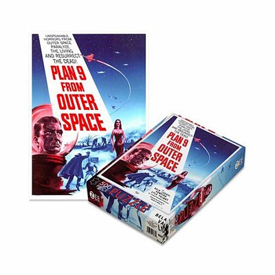 Plan 9 Puzzle From Outer Space --- DAMAGED PACKAGING